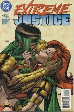Amazing-Man (DC Comics) - Will Everett III and Maxima, artist Tom Morgan