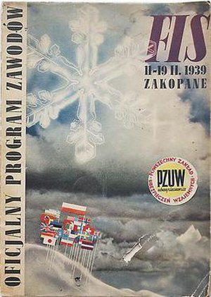 FIS Nordic World Ski Championships 1939 - Image: FIS Nordic WSC 1939 program cover