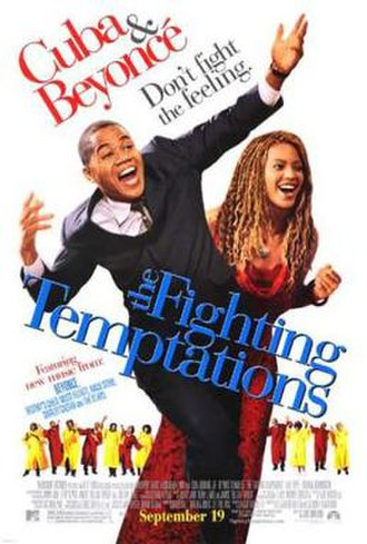The Fighting Temptations - Theatrical release poster