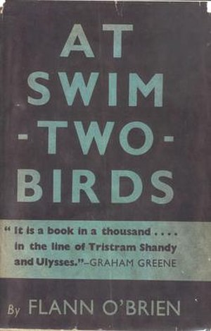 At Swim-Two-Birds - First edition cover