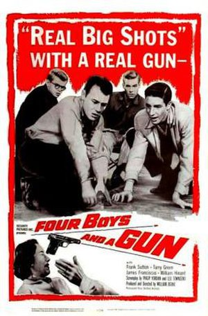 Four Boys and a Gun - Theatrical release poster