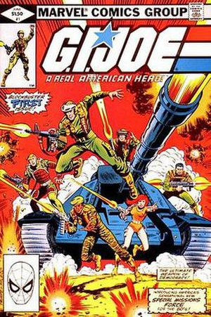 G.I. Joe: A Real American Hero (Marvel Comics) - Image: GI Joe A Real American Hero 1 cover