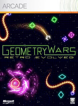 Geometry Wars: Retro Evolved - Image: Geometrywarscover