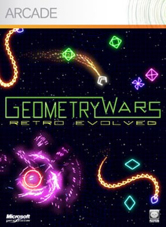 Geometry Wars: Retro Evolved - Image: Geometrywarscover