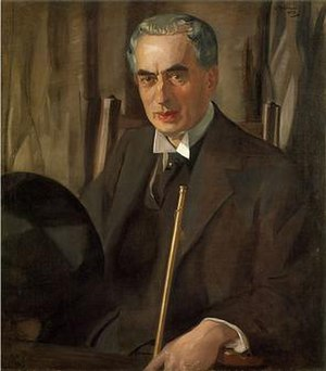 George Henry Walton - George Henry Walton (1923) by Sir William Oliphant Hutchison