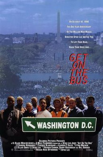 Get on the Bus - Theatrical release poster