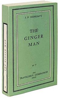 <i>The Ginger Man</i> book by J.P. Donleavy
