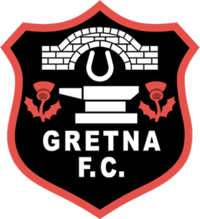 Gretna F.C. Former association football club in Scotland