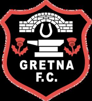 Gretna F.C. - Image: Gretna FC crest