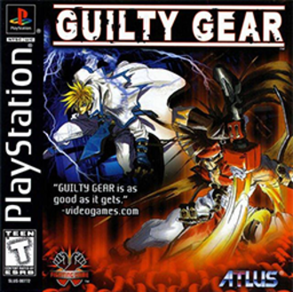 Guilty Gear (video game) - Image: Guilty Gear Coverart