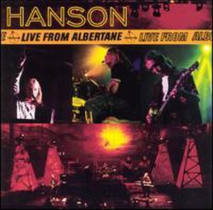 Live from Albertane - Image: Hanson Live From Albertane
