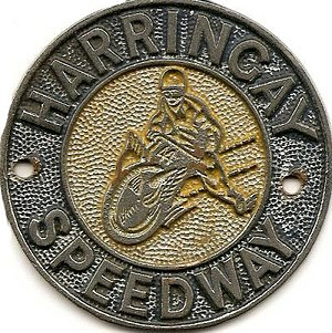 Harringay Racers (speedway) - Image: Harringay car badge