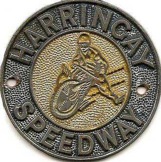 Harringay Racers (speedway) - Image: Harringay car badge