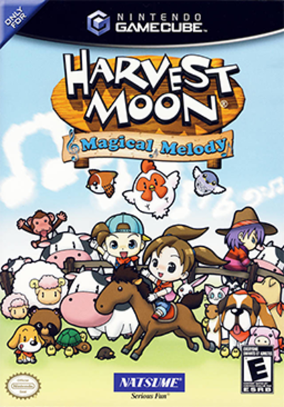 Picture of a game: Harvest Moon: Magical Melody
