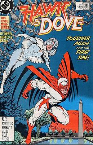 Hawk and Dove - Hawk and Dove: Hank and Dawn. Artwork by Rob Liefeld.