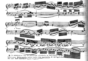 Two hundred fifty-sixth note - Image: Heinrich 1024th notes