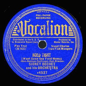 Hold Tight (Sidney Bechet song) - Image: Hold Tight (Sidney Bechet song)