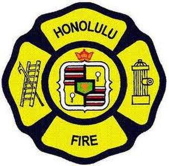 Honolulu Fire Department - Image: Honolulu Fire Department Logo