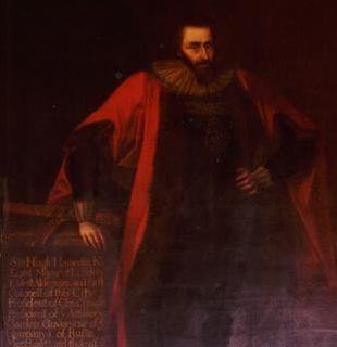 Hugh Hamersley Lord Mayor of London, 1627-1628