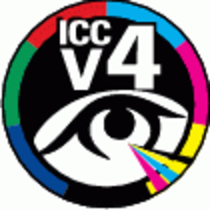 ICC profile - ICC V4 certification logo