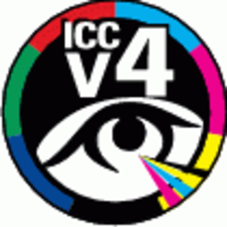 ICC profile - ICC V4 certification logo
