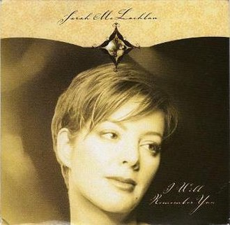 I Will Remember You (Sarah McLachlan song) - Image: I will remember you 1999 sarah mclachlan live