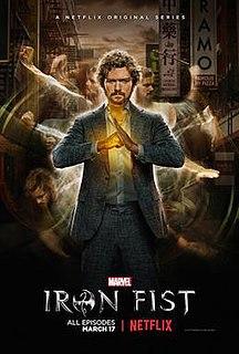 <i>Iron Fist</i> (season 1) 2017 season of the television series Iron Fist