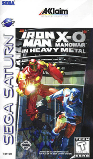 Iron Man and X-O Manowar in Heavy Metal - Cover art
