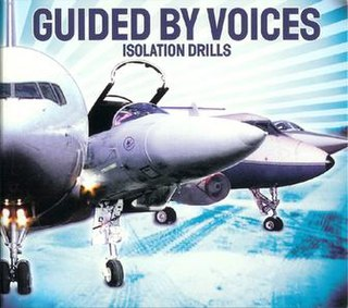 <i>Isolation Drills</i> 2001 studio album by Guided by Voices