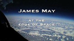 James May at the Edge of Space title card
