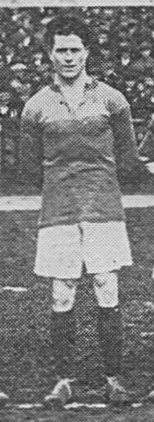 1913–14 Brentford F.C. season - Image: Jack Cock, Brentford FC footballer, 1919