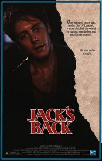 Jack's Back - Theatrical release poster