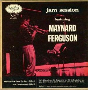 Jam Session featuring Maynard Ferguson - Image: Jam Session featuring Maynard Ferguson