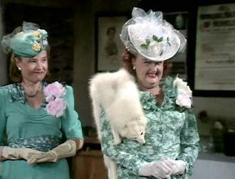Janet Davies (actress) - Janet Davies (left) as Mrs Pike in the Dad's Army episode Never Too Old