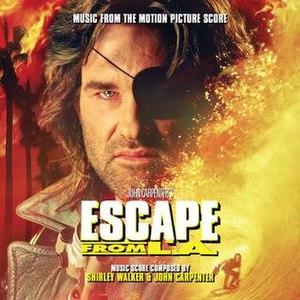 Escape from L.A. (score) - Image: John Carpenter & Shirley Walker Escape from L.A. score 2014