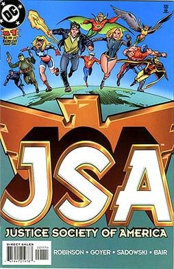 Justice Society of America 1