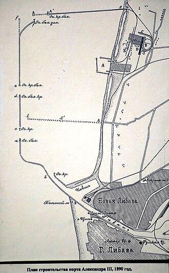 Karosta - Original building plan.