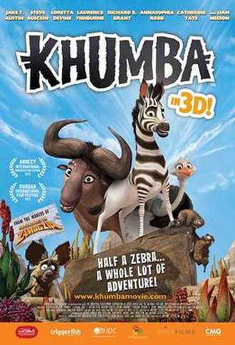 Khumba - Theatrical release poster