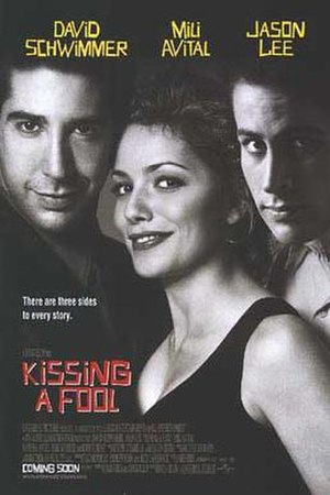 Kissing a Fool - Promotional film poster