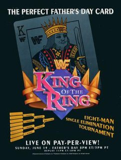 King of the Ring (1994) 1994 World Wrestling Federation pay-per-view event