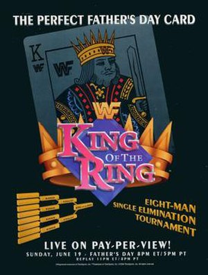 King of the Ring (1994) - Promotional poster