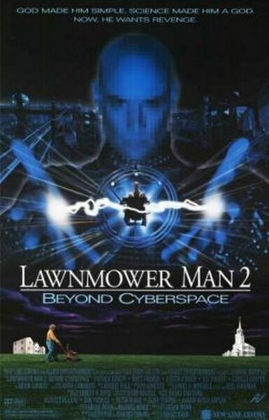 Lawnmower Man 2: Beyond Cyberspace - Theatrical release poster