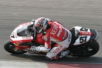 Superbike World Championship - Image: Lorenzo Lanzi wk sbk assen 2007