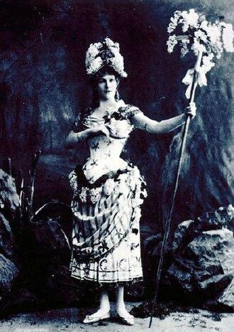 Ivan Vsevolozhsky - Image: Marie Petipa as orig Lilac Fairy