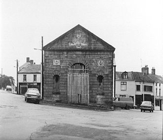 Market House, Monaghan - The Market House, Monaghan, in 1979