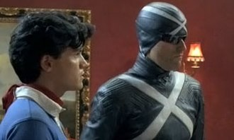Racer X (character) - Matthew Fox as Racer X and Emile Hirsch as Speed Racer in Speed Racer.