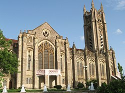 The Church of South India Cathedral in Medak