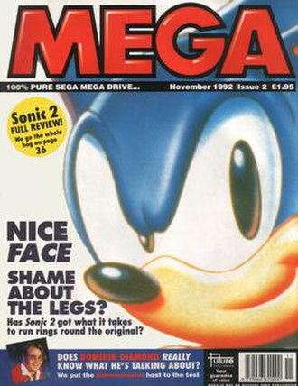 Mega (magazine) - Cover of issue 2, November 1992
