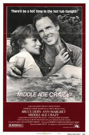 Middle Age Crazy - Theatrical release poster