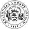 Official seal of Multnomah County